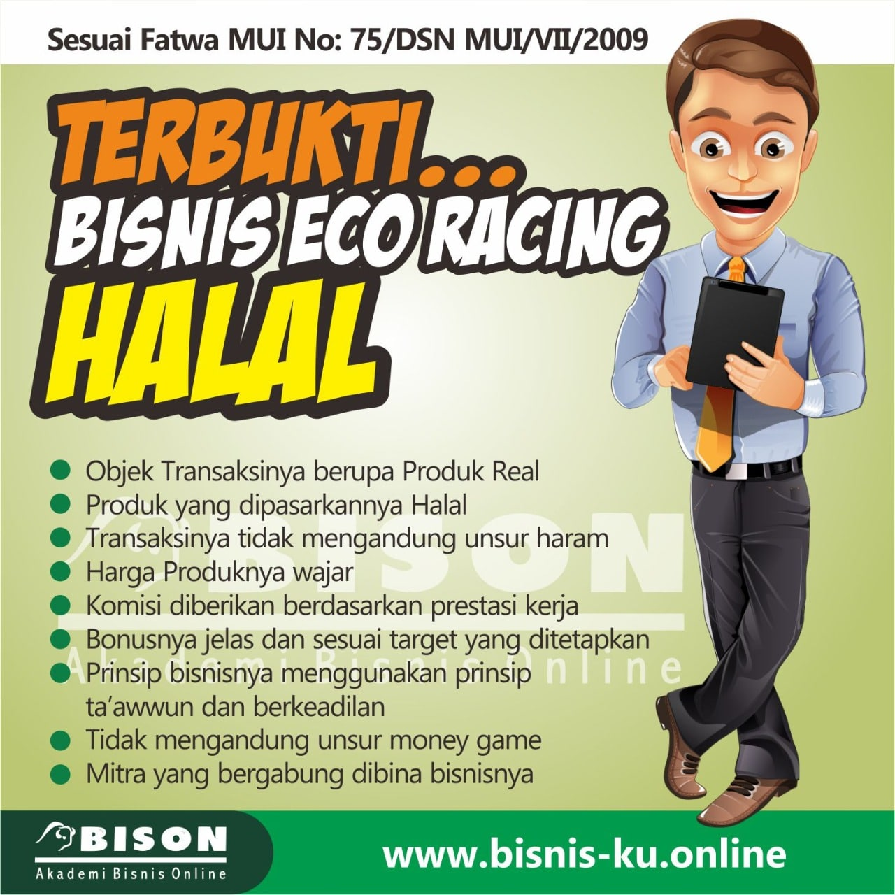 Eco Racing Haram Ataukah Halal Sinergy World